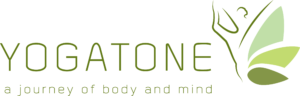 Yogatone logo - a journey of body and mind